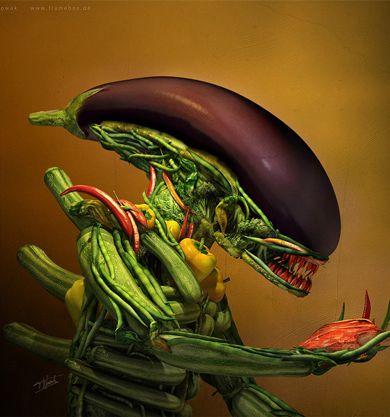 Vegetarian Brains